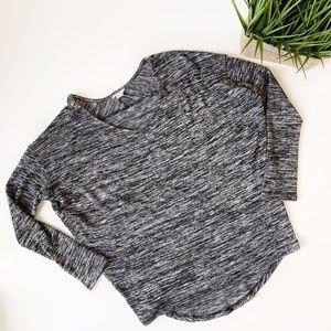 Streetwear Society Heather Grey Long Sleeve Large